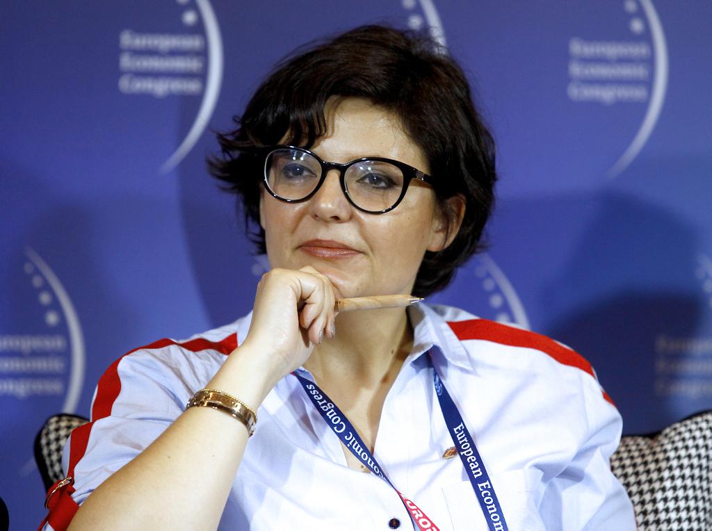 Justyna Glusman, dyrektor koordynator ds. zrównoważonego rozwoju i zieleni m.st. Warszawy (fot. PTWP)