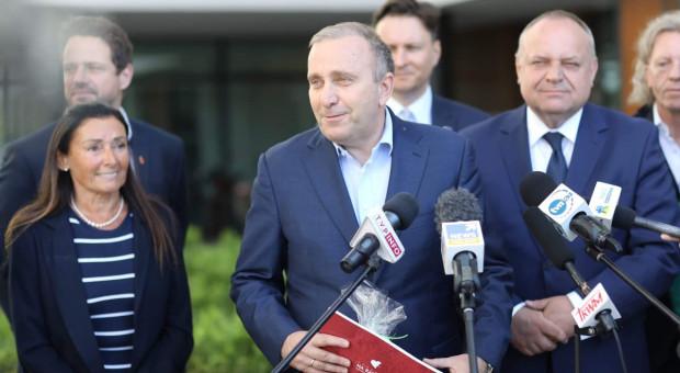 Grzegorz Schetyna: Chciałbym, żeby prezes PiS przeprosił strażaków