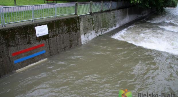 Starosta odwołał alarm powodziowy w powiecie bielskim