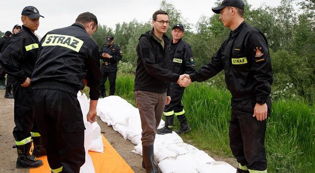 Ponad 700 interwencji straży na Podkarpaciu. Alarm powodziowy utrzymany