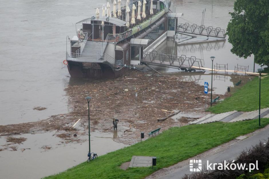 Kraków bezpieczny. Prezydent odwołał alarm przeciwpowodziowy