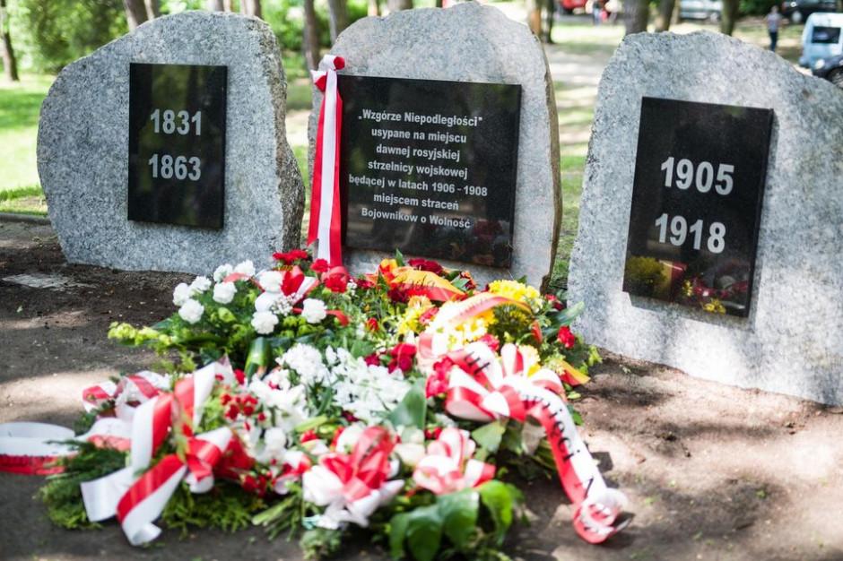 Łódź: Odsłonięto Pomnik Pamięci Łódzkich Rewolucjonistów - Bojowników o Wolność