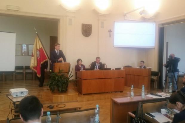 Daniel Beger, prezydent Świętochłowic, zapowiedział znaczne cięcia w wydatkach miasta (fot. UM Świętochłowice)