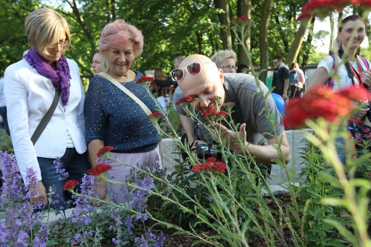 Pierwszy ogród sensoryczny powstał na gdańskiej Oliwie (fot. gdansk.pl/Artur Mehring)