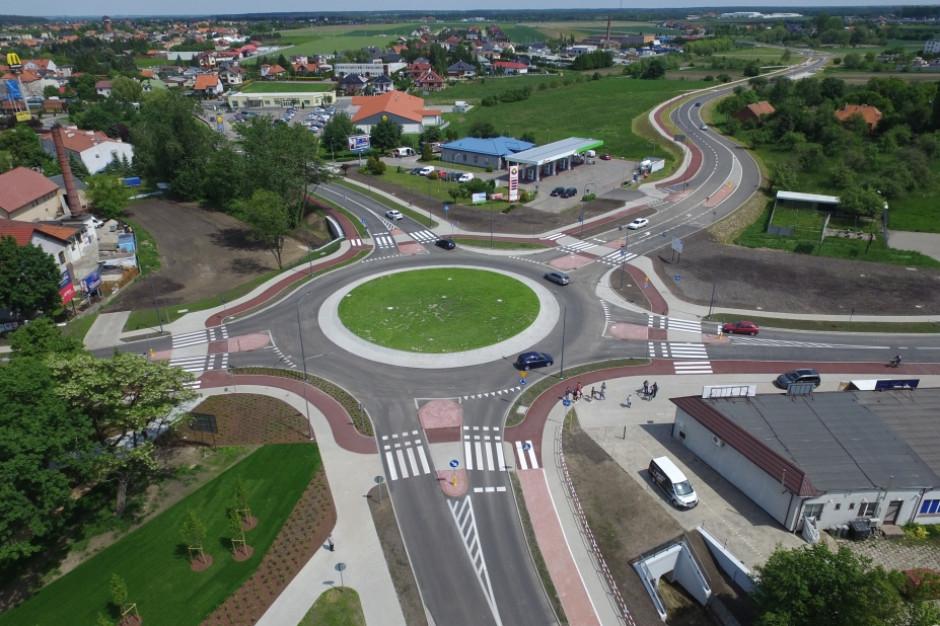 Jarocin: Rondo scaliło kluczowe inwestycje drogowe w mieście