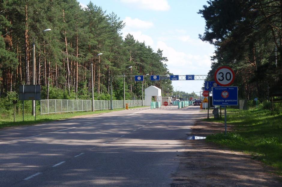 Podlaskie: Droga do przejścia granicznego z Białorusią zostanie zmodernizowana