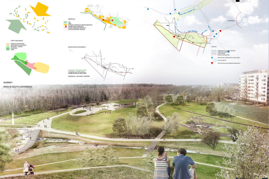 Wyłoniono zwycięski projekt parku im. Cichociemnych Spadochroniarzy AK w Warszawie