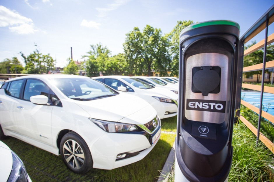 Wrocław wynajmuje samochody elektryczne