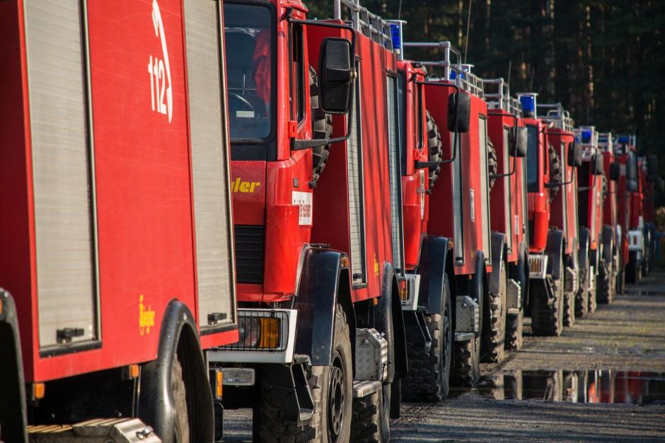 Samorząd współfinansuje promesy na nowe wozy strażackie