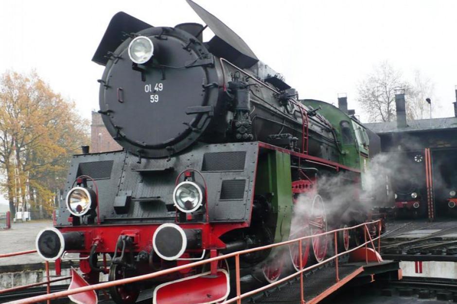 Wielkopolskie: pociągi prowadzone przez parowóz pojadą dookoła Poznania