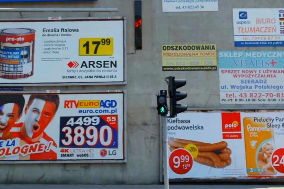 Samorządy stracą narzędzie do walki z reklamami w mieście