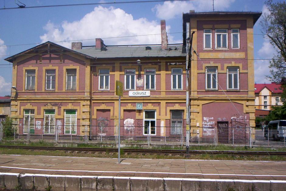 Kolejarze zapowiadają modernizację dworca w Olkuszu