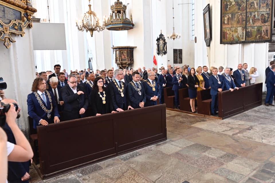 Modlitwa ekumeniczna w Kościele Mariackim. Fot. Jacek Karnowski