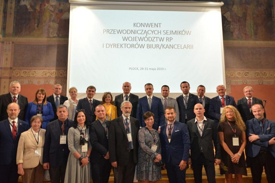 Konwent Przewodniczących Sejmików Województw RP. Pierwsze spotkanie po wyborach