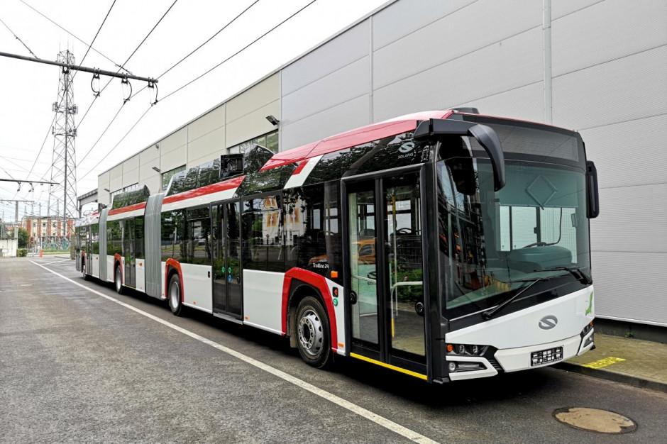 W Gdyni testują najdłuższy trolejbus w Europie
