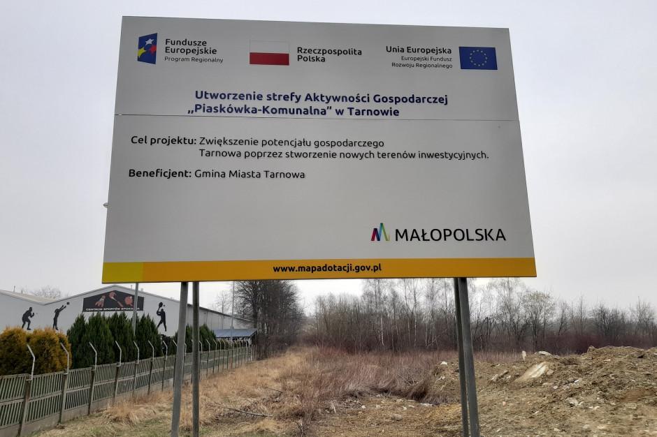 Tarnów uzbraja nowe tereny pod inwestycje
