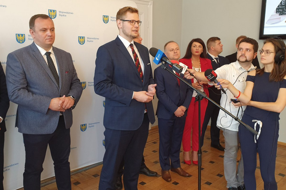 Minister Michał Woś podsumował pracę w zarządzie woj. śląskiego