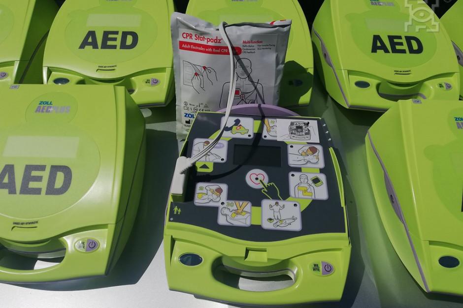 Lublin: przenośne defibrylatory dla straży miejskiej