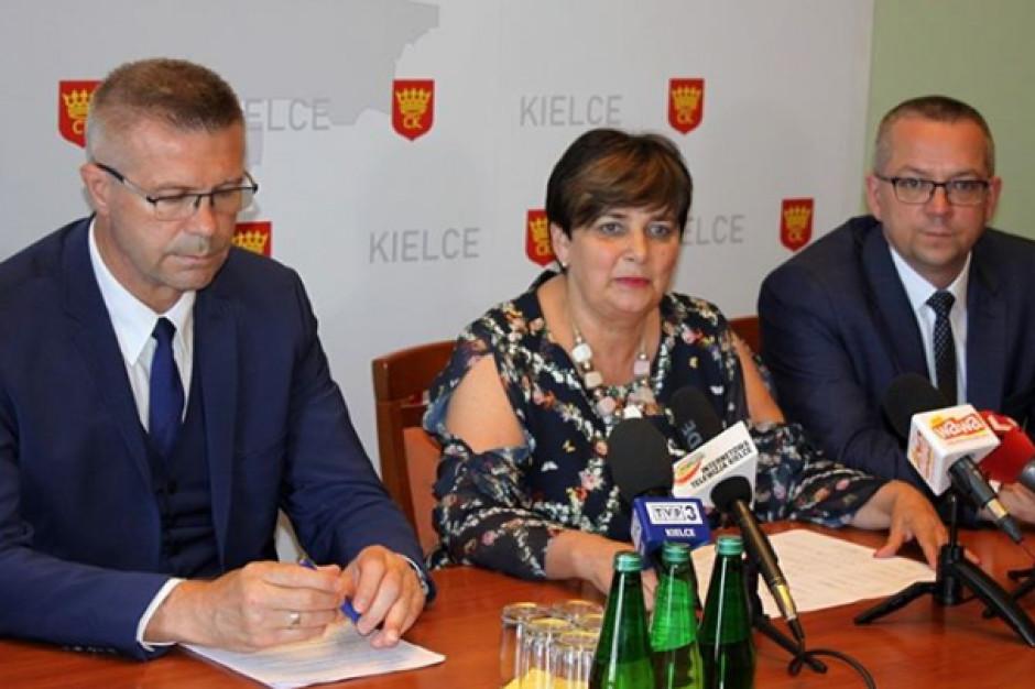 Dotychczasowa pełnomocnik ds. finsnsów nowym wiceprezydentem Kielc