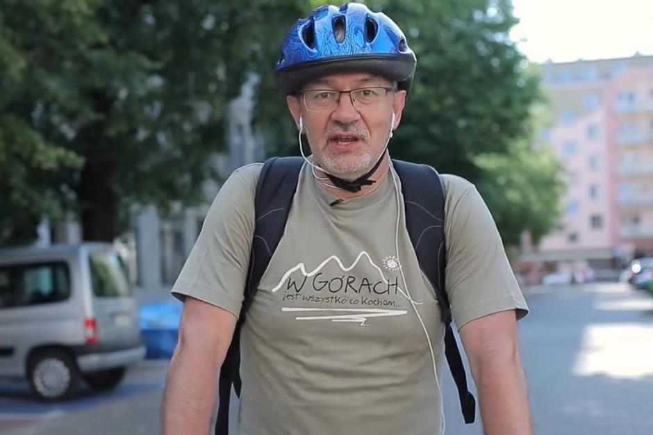Minister Kwieciński na rowerze promuje rajd i programy INTERREG