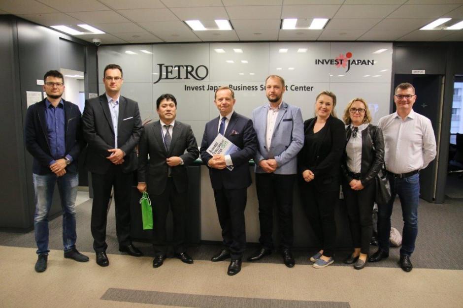 Delegacja województwa podkarpackiego w Japonii. W jej składzie samorządowcy i przedsiębiorcy