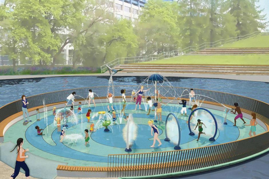 Kraków zbuduje wodny plac zabaw