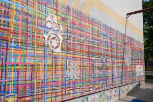 """W Białymstoku odnowiono zniszczony mural. Prezydent: """"Nie radzę innym naśladownictwa"""""""