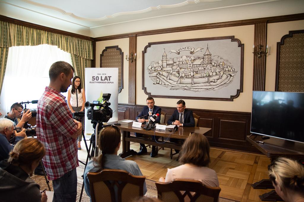 Konferencja na temat budowy ekociepłowni. Fot. EC Olsztyn