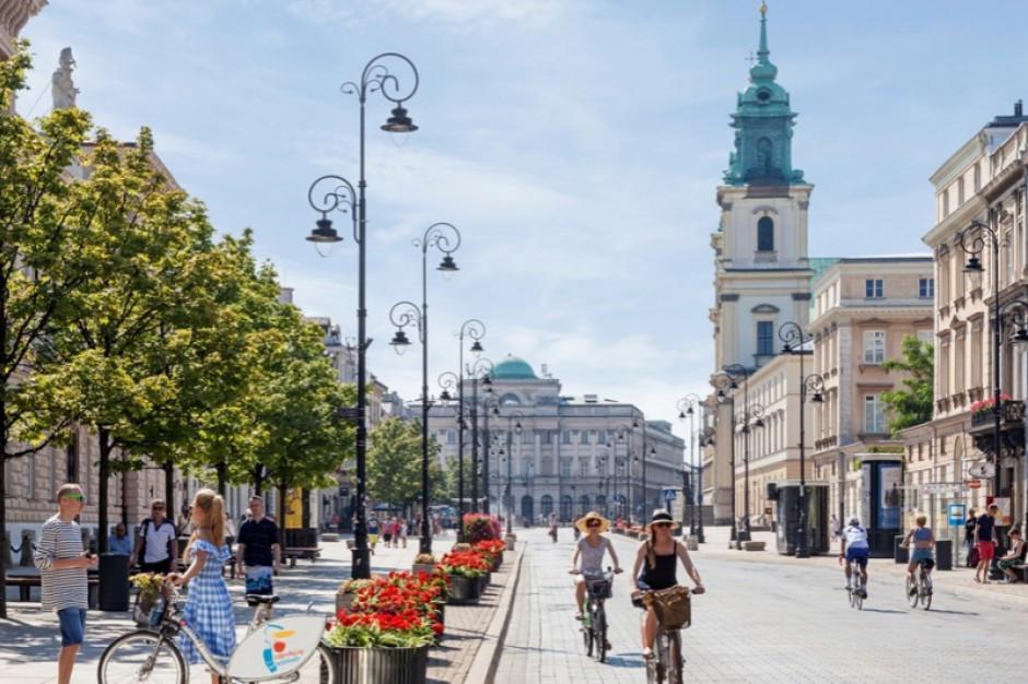 W piątek rusza remont Krakowskiego Przedmieścia w Warszawie. Będą utrudnienia i objazdy