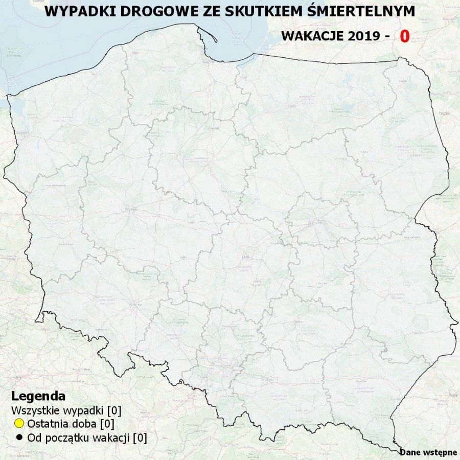 Interaktywna mapa wypadków na drogach będzie aktualizowana od drugiego dnia wakacji (fot. policja.pl)