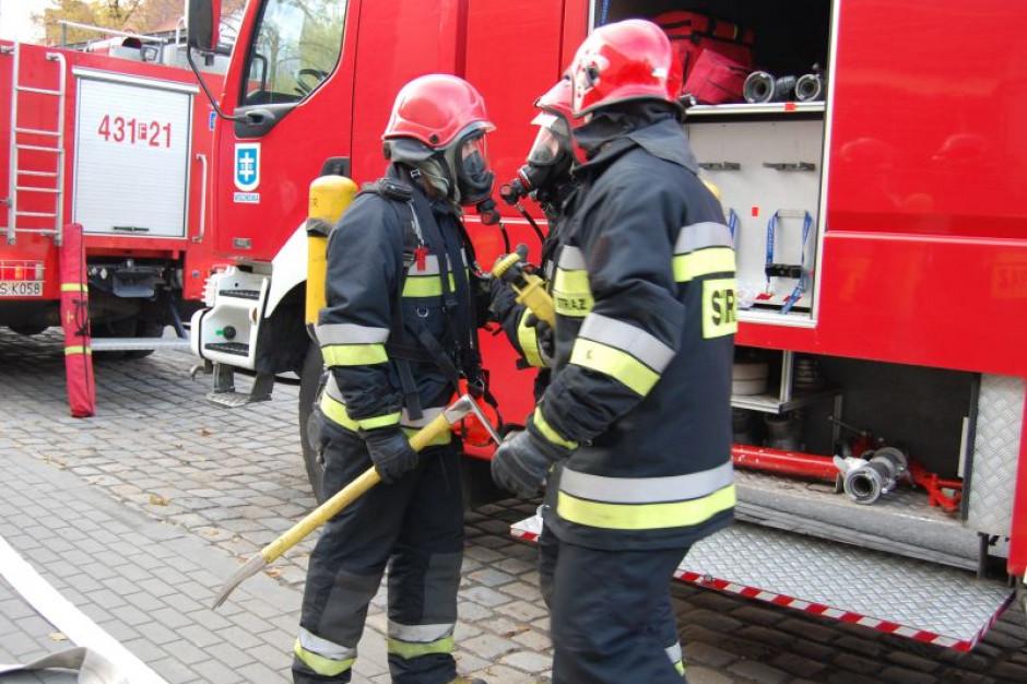 Zwarcie elektryczne prawdopodobną przyczyną pożaru kościoła w Lutolu Suchym