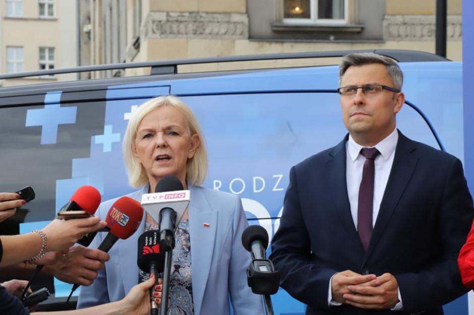 """Pięcioraczki na Śląsku: Borys-Szopa """"gratuluje"""""""