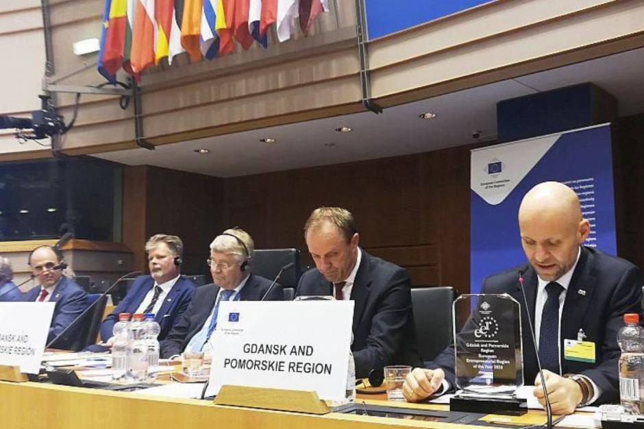 Woj. pomorskie wraz z Gdańskiem otrzymało tytuł Europejskiego Regionu Przedsiębiorczości 2020