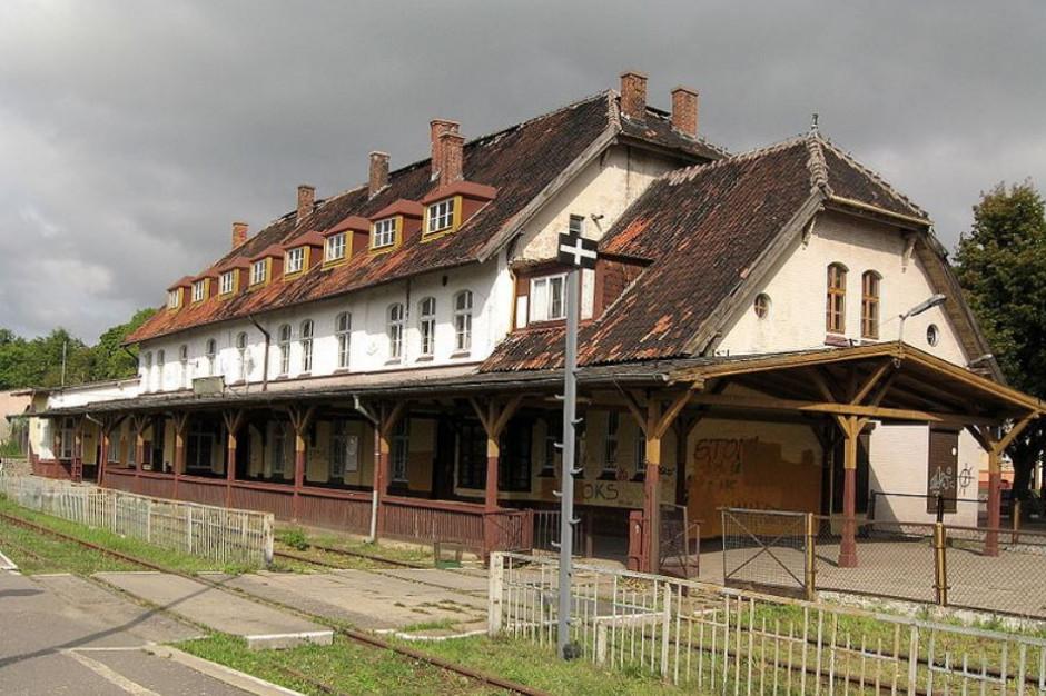 Dworzec kolejowy w Szczytnie zostanie wyremontowany za 16,5 mln zł