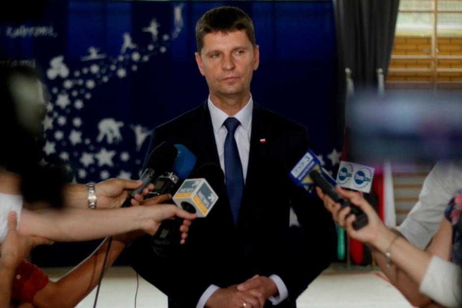 Dariusz Piontkowski: Jestem otwarty na sygnały ze strony związkowców i nauczycieli