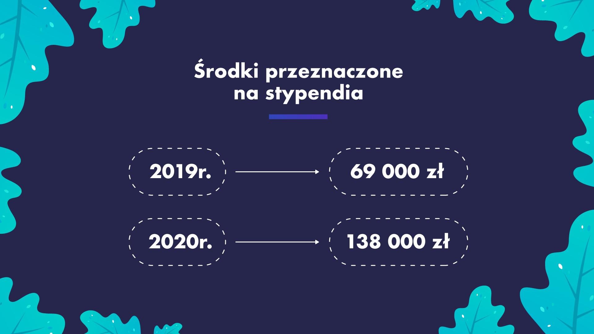 W tym roku zarząd województwa dolnośląskiego zamierza przeznaczyć na te stypendia 69 tys. zł, a w przyszłym roku 139 tys. zł(fot. umwd.dolnyslask.pl)
