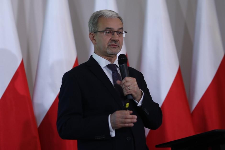 """Jerzy Kwieciński: Inwestycje będą rosnąć. Sprzyjać będzie im """"szczyt"""" wykorzystania funduszy UE"""
