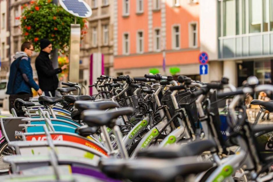 W Katowicach jest już 76 stacji rowerowych. Docelowo ma być ich 150
