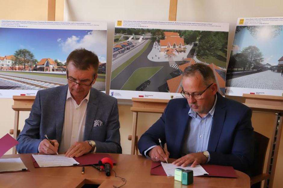 Umowa na budowę i remont usteckich dworców  podpisana