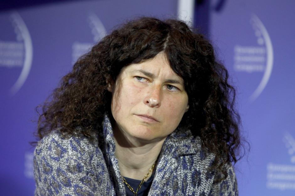 Agata Dąmbska z Forum Od-nowa (fot.PTWP)