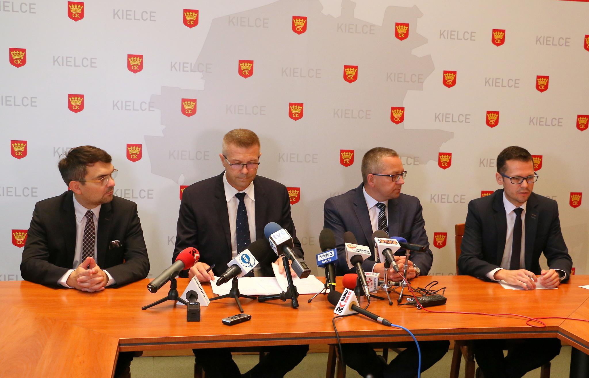 Bogdan Wenta wyjaśniał zakaz obawami o napiętą atmosferę, jaka mogłaby powstać pomiędzy uczestnikami Marszu Równości (fot.um.kielce.pl)