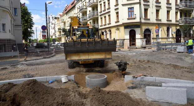 Ulica Jackowskiego będzie gotowa w listopadzie (Fot. Poznan.pl)