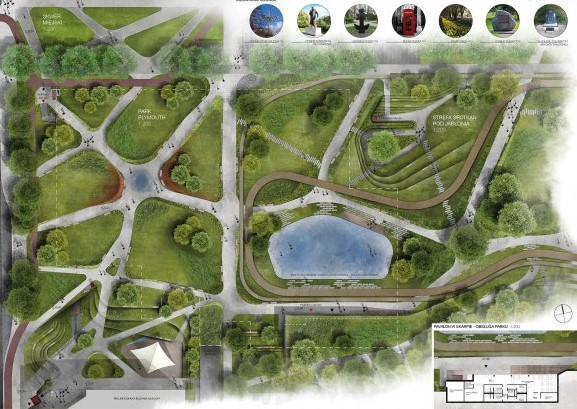 Budowa Parku ma zakończyć się w 2021 roku (Fot. Gdynia.pl)