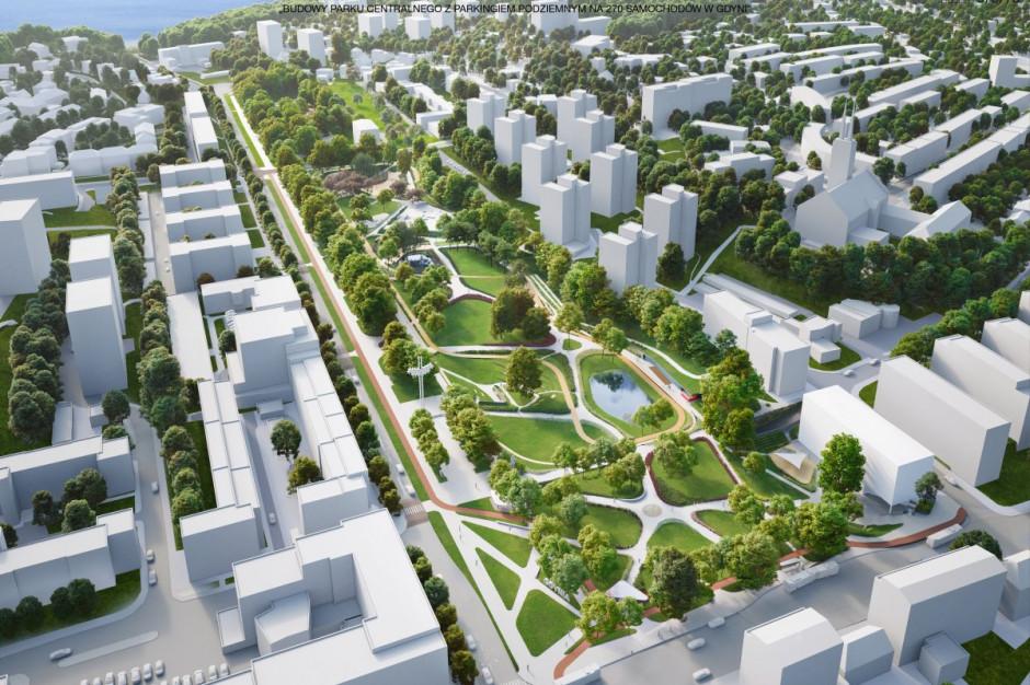 """""""Central Park"""" w Gdyni. Oferty na budowę drugiego etapu znacząco większe niż budżet"""
