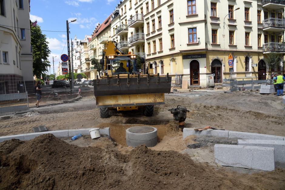 Poznań: zakończył się pierwszy etap przebudowy ul. Jackowskiego