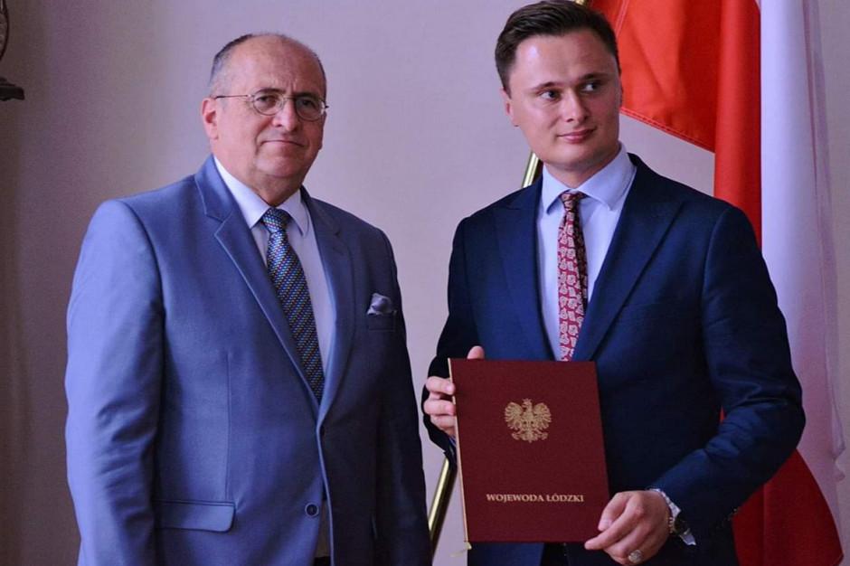 Krzysztof Ciecióra nowym wicewojewodą łódzkim