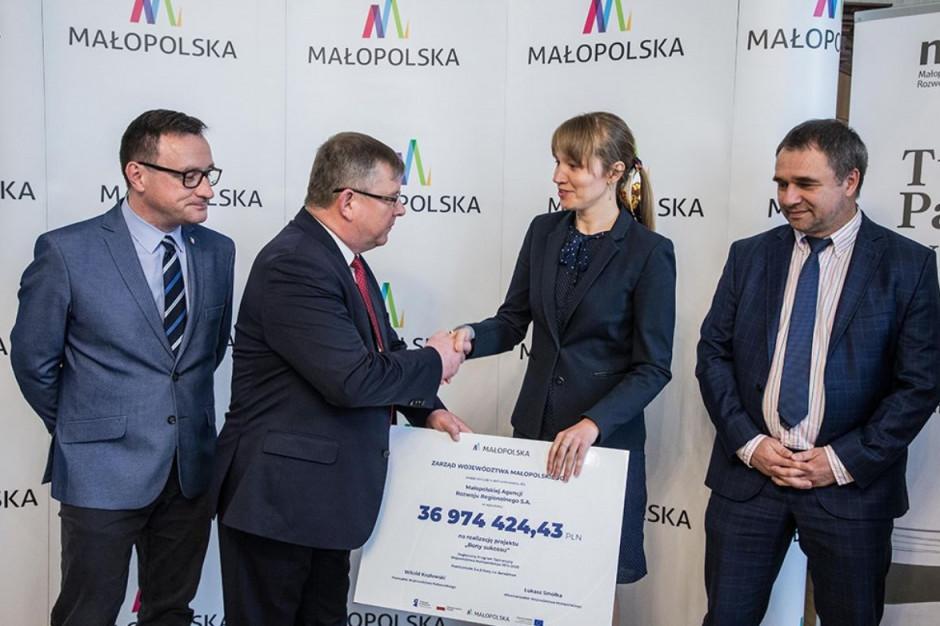 Małopolska Agencja Rozwoju Regionalnego otrzymała prawie 37 mln zł na doradztwo dla przedsiębiorców