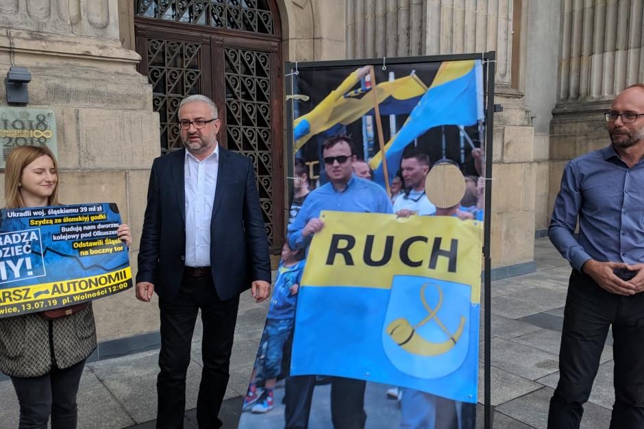 Ruchu Autonomii Śląska chce wykorzystać zdjęcie Jakuba Chełstowskiego