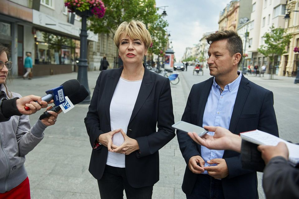 Prezydent Łodzi Hanna Zdanowska i (fot. uml.lodz.pl)