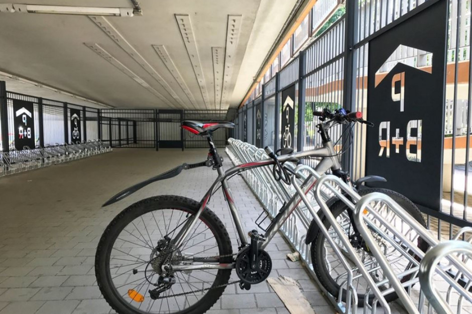 Otwarto chorzowski parking pod estakadą na prawie 100 rowerów